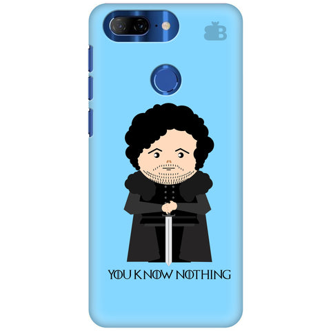 You Know Nothing Lenovo K9 Note Cover