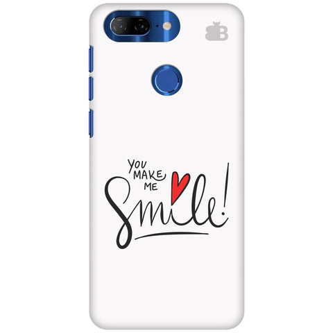 You make me Smile Lenovo K9 Note Cover