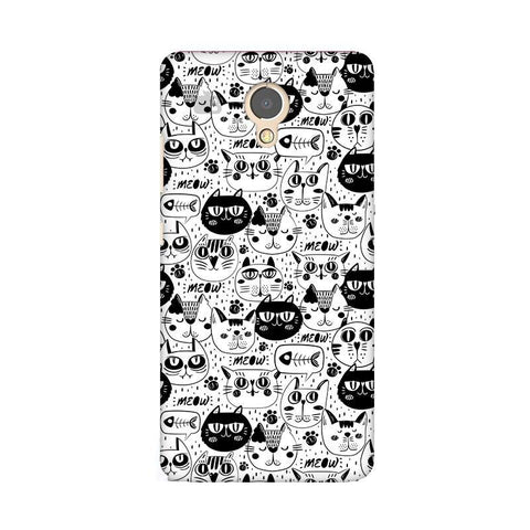 Cute Cats Pattern Lenovo P2 Phone Cover