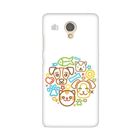 Cute Pets Lenovo P2 Phone Cover