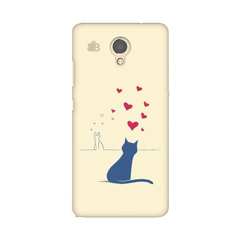 Kitty in Love Lenovo P2 Phone Cover