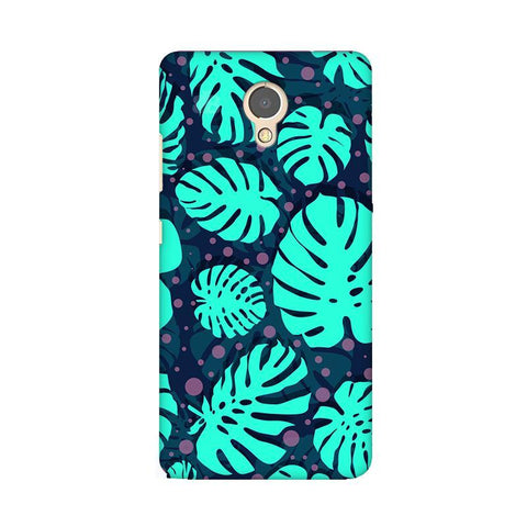 Tropical Leaves Pattern Lenovo P2 Phone Cover