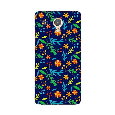 Vibrant Floral Pattern Lenovo P2 Phone Cover