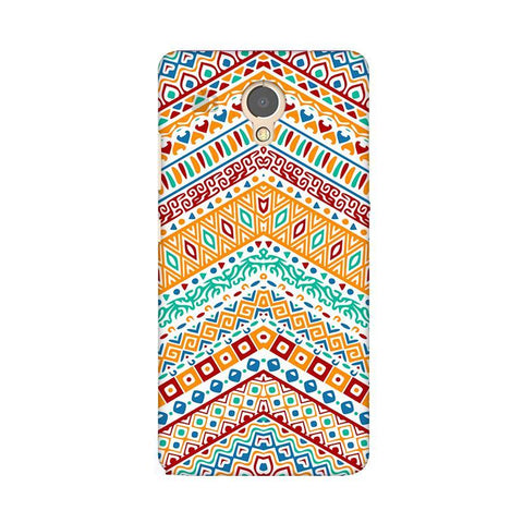 Wavy Ethnic Art Lenovo P2 Phone Cover