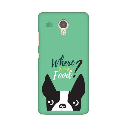 Where is my Food Lenovo P2 Phone Cover