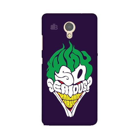 Why So Serious Lenovo P2 Phone Cover