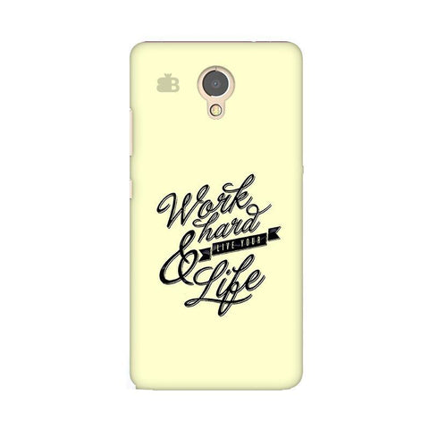 Work Hard Lenovo P2 Phone Cover