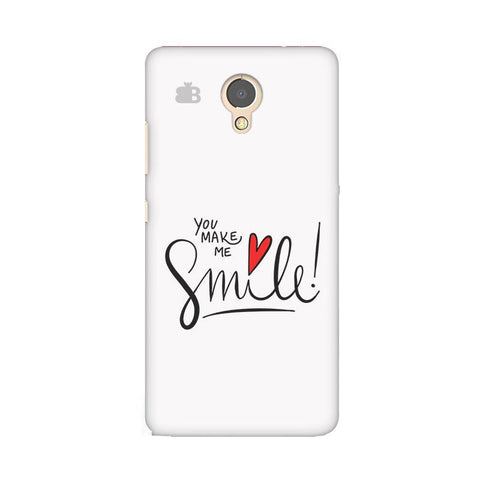 You make me Smile Lenovo P2 Phone Cover