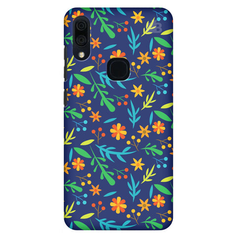 Vibrant Floral Pattern Lenovo S5 Pro Cover