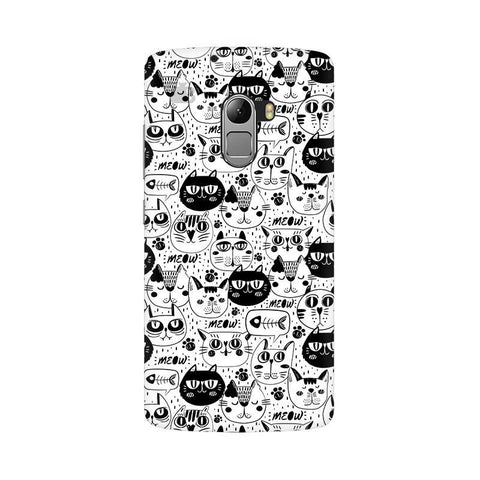 Cute Cats Pattern Lenovo Vibe K4 Note Phone Cover
