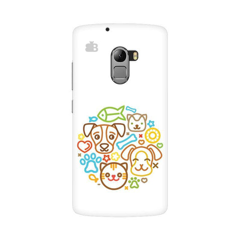 Cute Pets Lenovo Vibe K4 Note Phone Cover