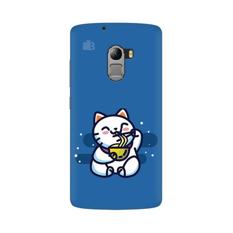 KItty eating Noodles Lenovo Vibe K4 Note Phone Cover