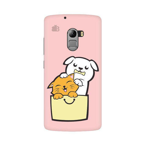 Kitty Puppy Buddies Lenovo Vibe K4 Note Phone Cover