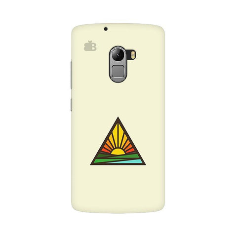Triangular Sun Lenovo Vibe K4 Note Phone Cover