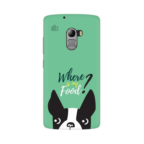 Where is my Food Lenovo Vibe K4 Note Phone Cover