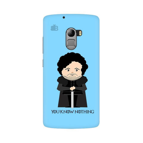 You Know Nothing Lenovo Vibe K4 Note Phone Cover