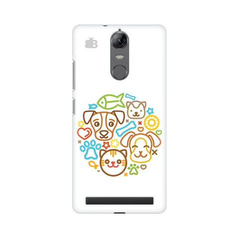 Cute Pets Lenovo Vibe K5 Note Phone Cover