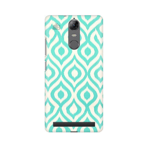 Cyan Ikat Lenovo Vibe K5 Note Phone Cover