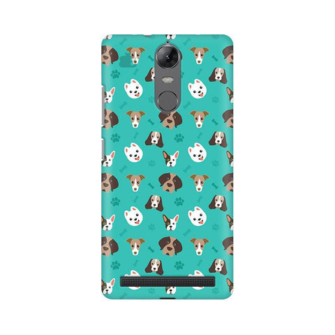 Doggie Pattern Lenovo Vibe K5 Note Phone Cover