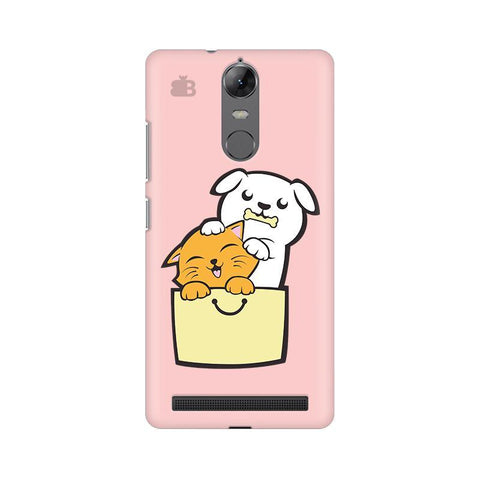 Kitty Puppy Buddies Lenovo Vibe K5 Note Phone Cover