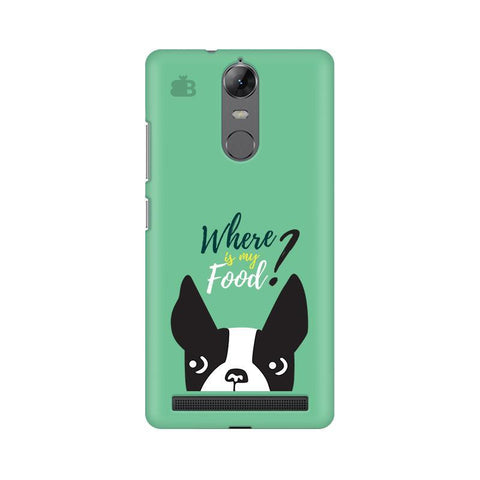 Where is my Food Lenovo Vibe K5 Note Phone Cover