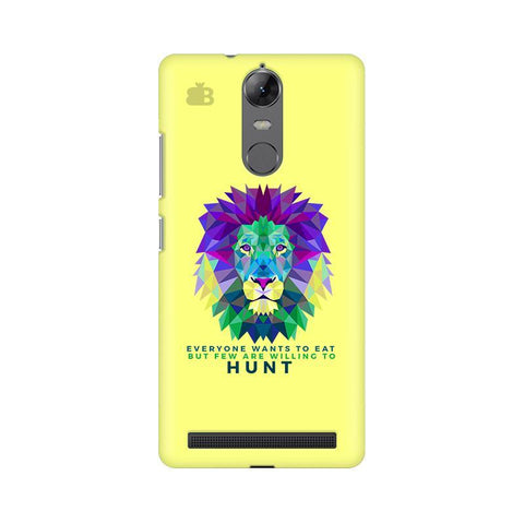 Willing to Hunt Lenovo Vibe K5 Note Phone Cover