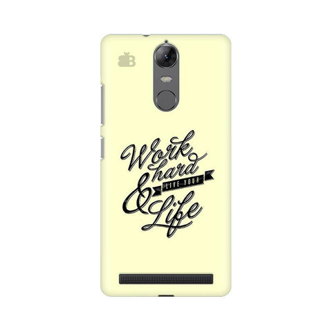 Work Hard Lenovo Vibe K5 Note Phone Cover