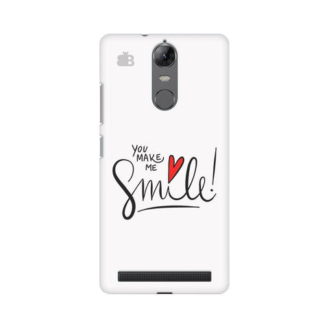 You make me Smile Lenovo Vibe K5 Note Phone Cover