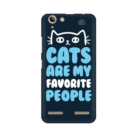 Cats favorite People Lenovo Vibe K5 Plus Phone Cover