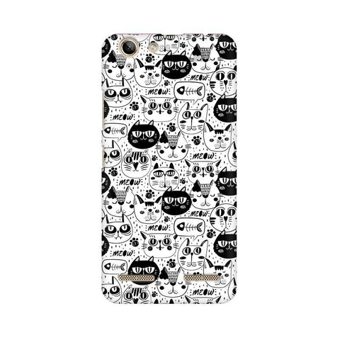 Cute Cats Pattern Lenovo Vibe K5 Plus Phone Cover