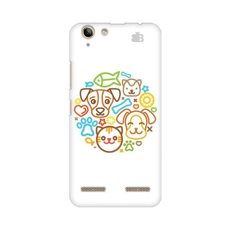 Cute Pets Lenovo Vibe K5 Plus Phone Cover