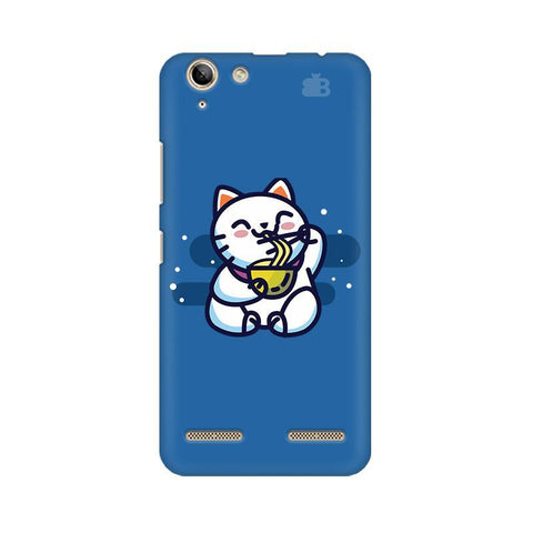 KItty eating Noodles Lenovo Vibe K5 Plus Phone Cover