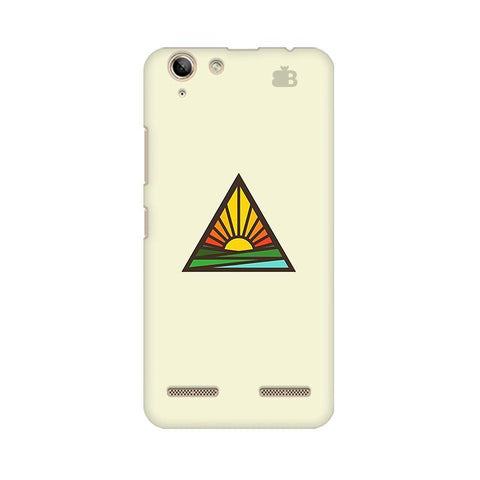 Triangular Sun Lenovo Vibe K5 Plus Phone Cover