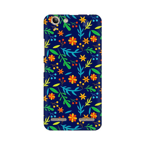Vibrant Floral Pattern Lenovo Vibe K5 Plus Phone Cover