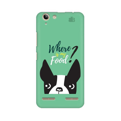 Where is my Food Lenovo Vibe K5 Plus Phone Cover