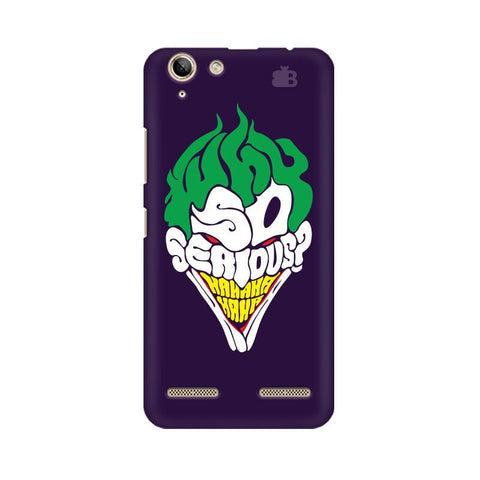 Why So Serious Lenovo Vibe K5 Plus Phone Cover