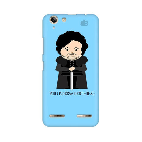 You Know Nothing Lenovo Vibe K5 Plus Phone Cover