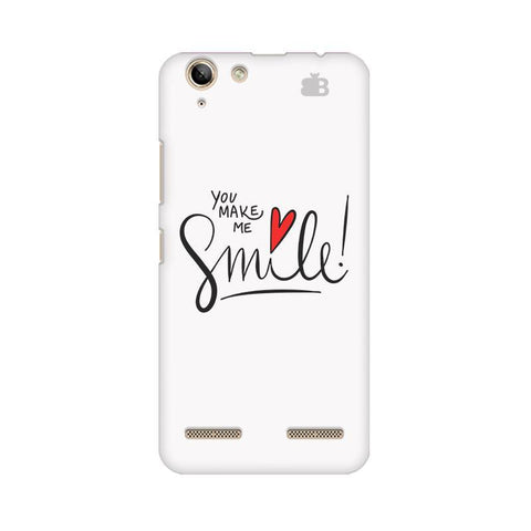 You make me Smile Lenovo Vibe K5 Plus Phone Cover