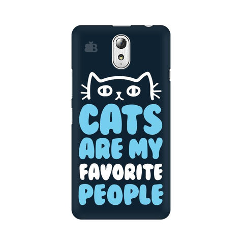 Cats favorite People Lenovo Vibe P1M Phone Cover