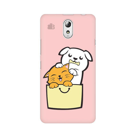 Kitty Puppy Buddies Lenovo Vibe P1M Phone Cover