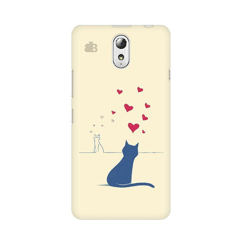Kitty in Love Lenovo Vibe P1M Phone Cover