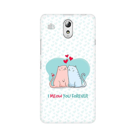 Meow You Forever Lenovo Vibe P1M Phone Cover