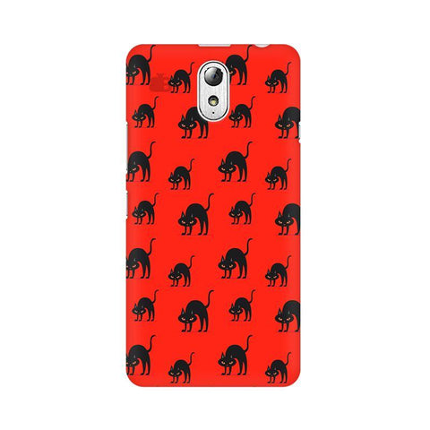Scary Cats Lenovo Vibe P1M Phone Cover