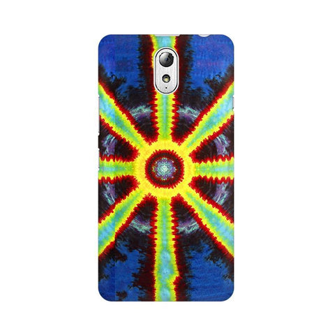 Tie & Die Pattern Lenovo Vibe P1M Phone Cover