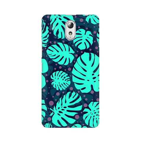 Tropical Leaves Pattern Lenovo Vibe P1M Phone Cover