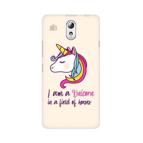 Unicorn in Horses Lenovo Vibe P1M Phone Cover