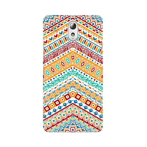 Wavy Ethnic Art Lenovo Vibe P1M Phone Cover