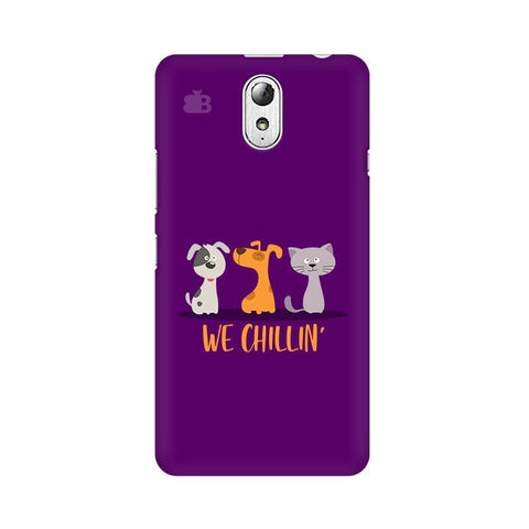 We Chillin Lenovo Vibe P1M Phone Cover