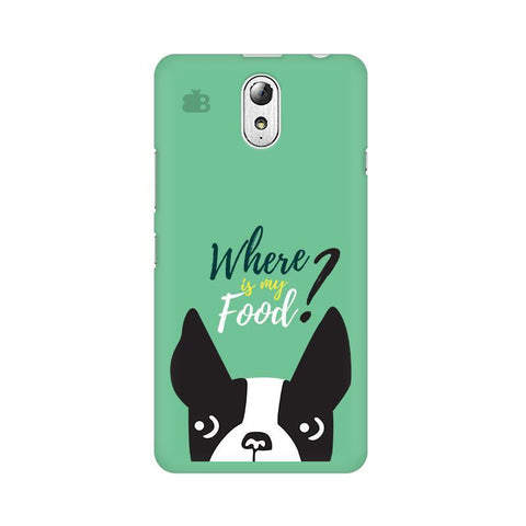 Where is my Food Lenovo Vibe P1M Phone Cover