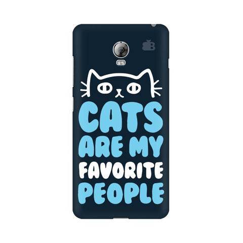 Cats favorite People Lenovo Vibe P1 Phone Cover